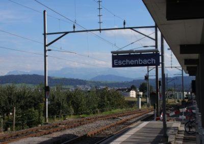 GEOTHERMISCHE WEICHENHEIZUNG BAHNHOF ESCHENBACH – SCHWEIZ